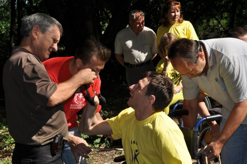 Инвалиды в Краматорске занимались альпинизмом (ФОТО, ВИДЕО), фото-4