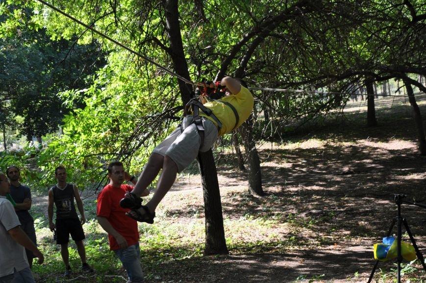 Инвалиды в Краматорске занимались альпинизмом (ФОТО, ВИДЕО), фото-9
