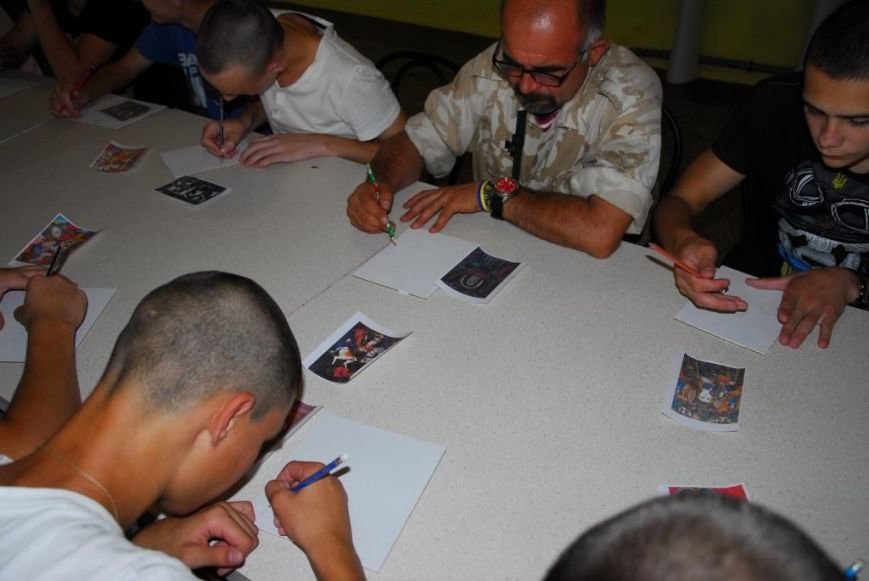 Воины АТО проходили реабилитацию, общаясь с подростками из Кременчугской воспитательной колонии (ФОТО), фото-2