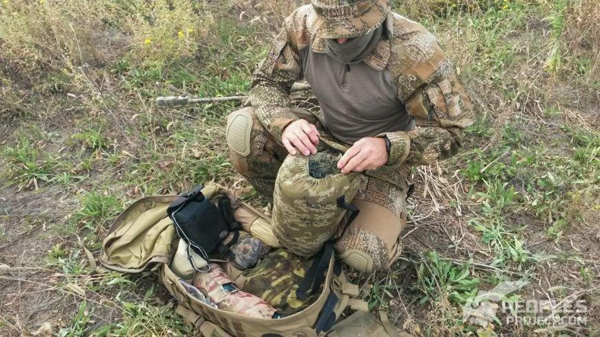 Николаевским снайперам передали рюкзаки (ФОТО) (фото) - фото 1