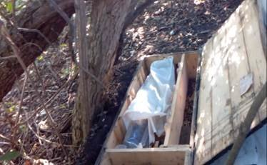 В районе Мариуполе обнаружен схрон боевиков (ФОТО) (фото) - фото 1