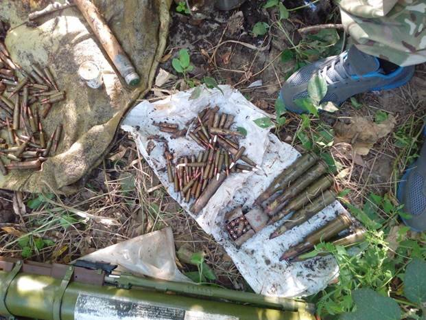 У жителя Донецкой области нашли два реактивных гранатомета (ФОТО) (фото) - фото 2
