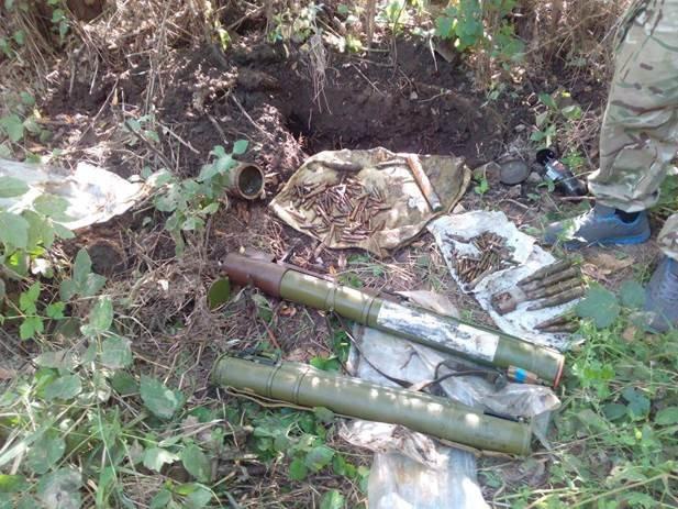 У жителя Донецкой области нашли два реактивных гранатомета (ФОТО) (фото) - фото 1