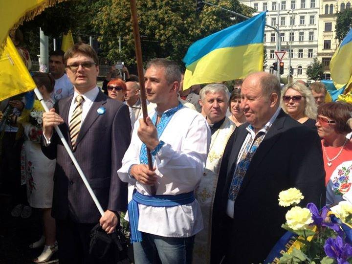Мариупольцы в Чехии  отметили главный национальный праздник Украины (ФОТО), фото-14