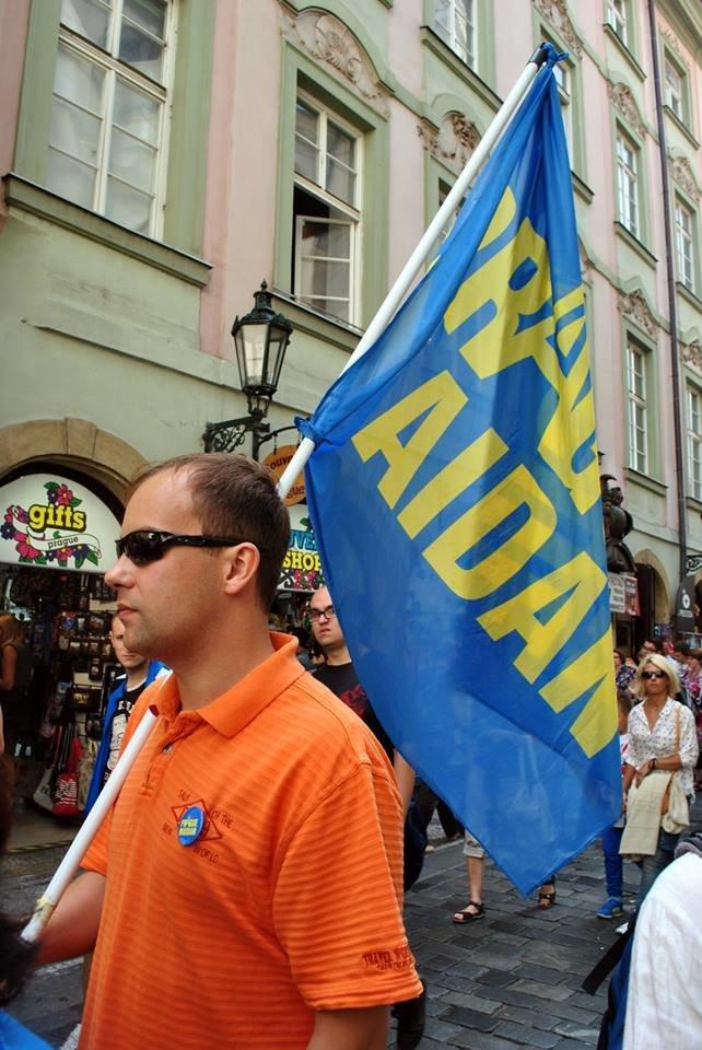 Мариупольцы в Чехии  отметили главный национальный праздник Украины (ФОТО), фото-12