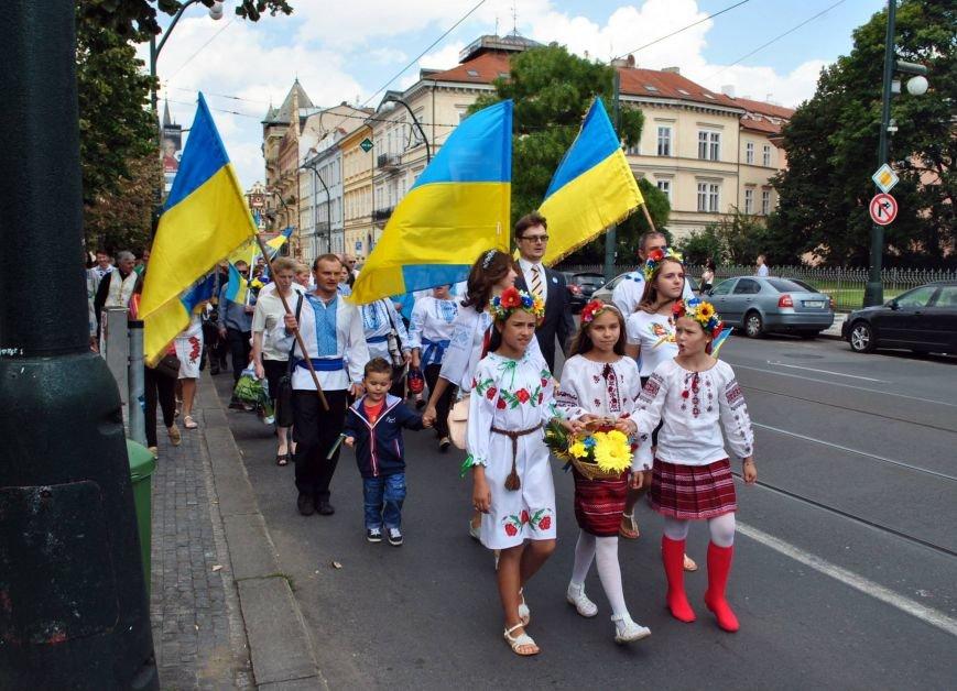 Мариупольцы в Чехии  отметили главный национальный праздник Украины (ФОТО), фото-1