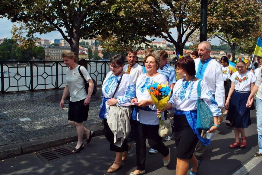 Мариупольцы в Чехии  отметили главный национальный праздник Украины (ФОТО), фото-5