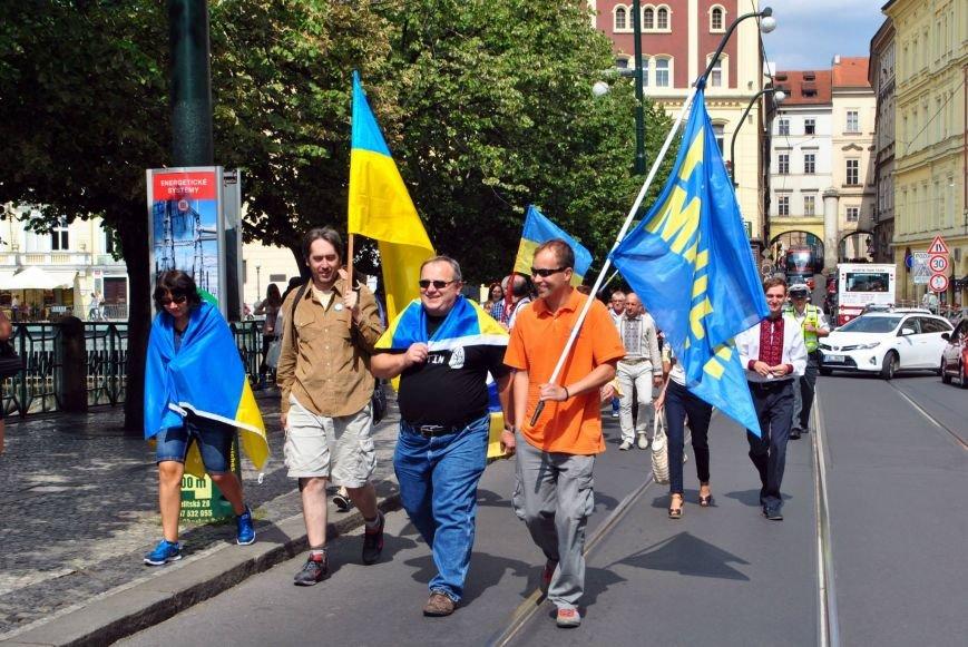 Мариупольцы в Чехии  отметили главный национальный праздник Украины (ФОТО), фото-7