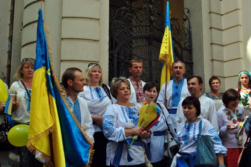 Мариупольцы в Чехии  отметили главный национальный праздник Украины (ФОТО), фото-9
