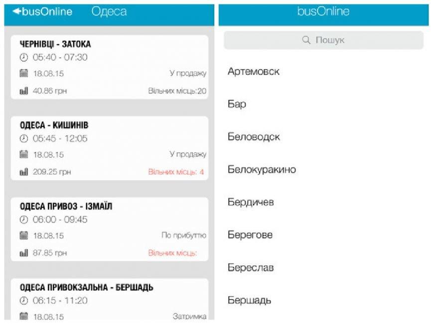 Кам'янчанин розробив додаток для iOS з розкладом усіх автобусів України (фото) - фото 1