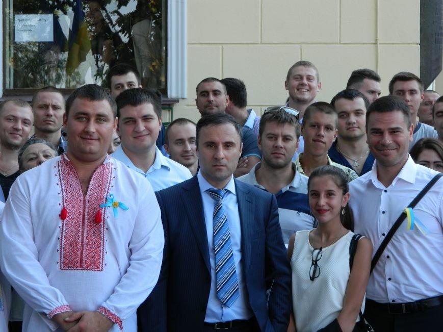 Ильичёвские активисты на принятии присяги новой одесской полиции (+фотоотчёт) (фото) - фото 7