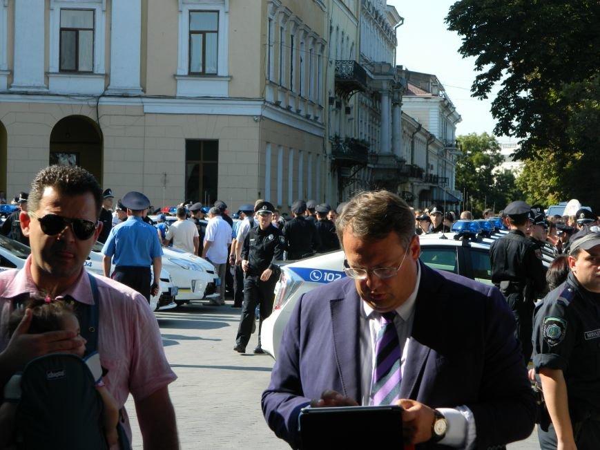 Ильичёвские активисты на принятии присяги новой одесской полиции (+фотоотчёт) (фото) - фото 10