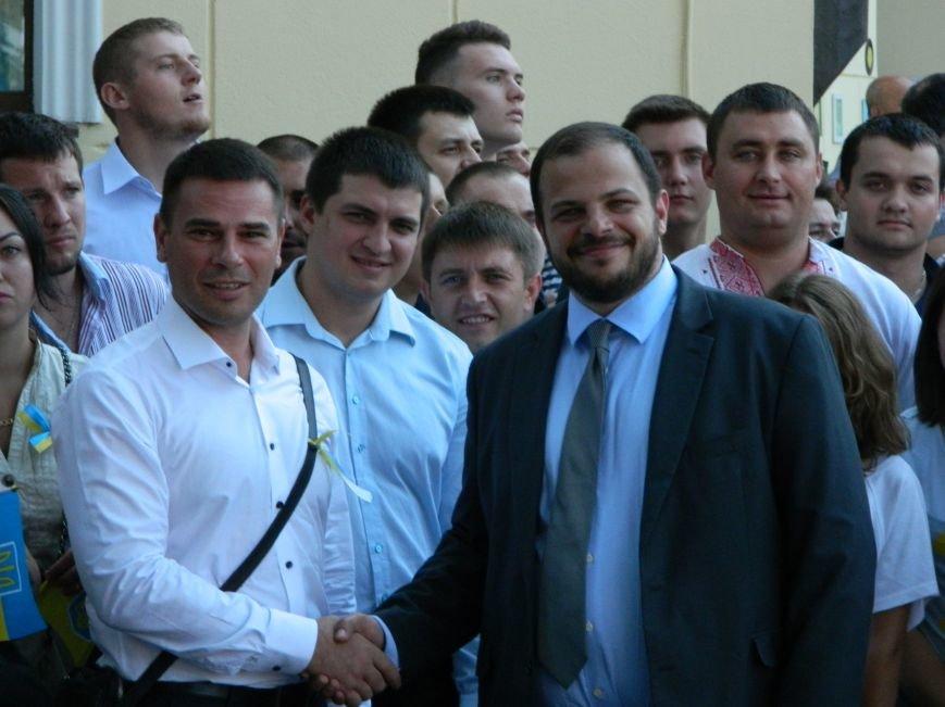 Ильичёвские активисты на принятии присяги новой одесской полиции (+фотоотчёт) (фото) - фото 8