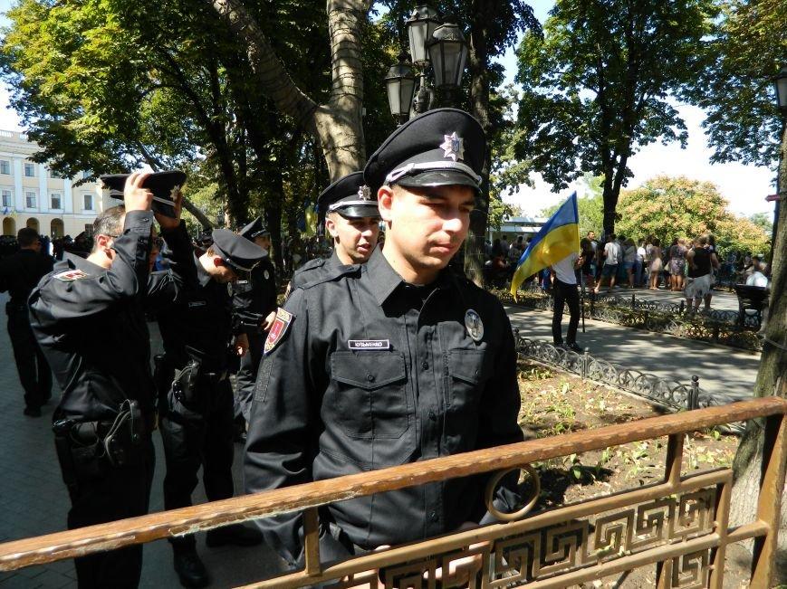 Ильичёвские активисты на принятии присяги новой одесской полиции (+фотоотчёт) (фото) - фото 4