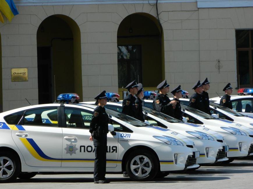Ильичёвские активисты на принятии присяги новой одесской полиции (+фотоотчёт) (фото) - фото 6