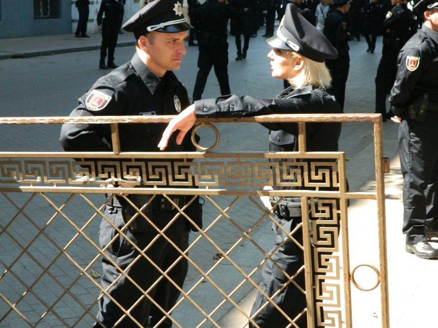 Ильичёвские активисты на принятии присяги новой одесской полиции (+фотоотчёт) (фото) - фото 3