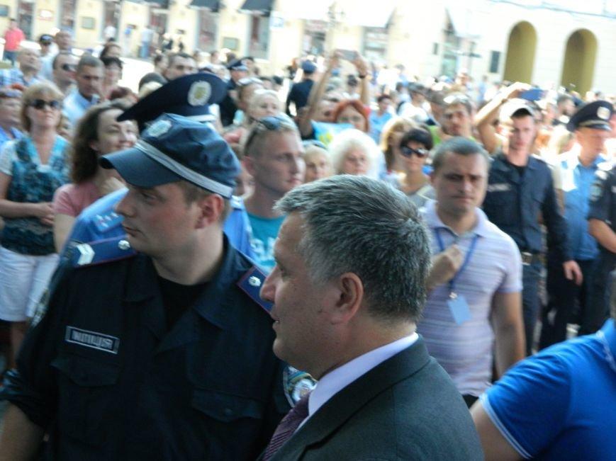 Ильичёвские активисты на принятии присяги новой одесской полиции (+фотоотчёт) (фото) - фото 9