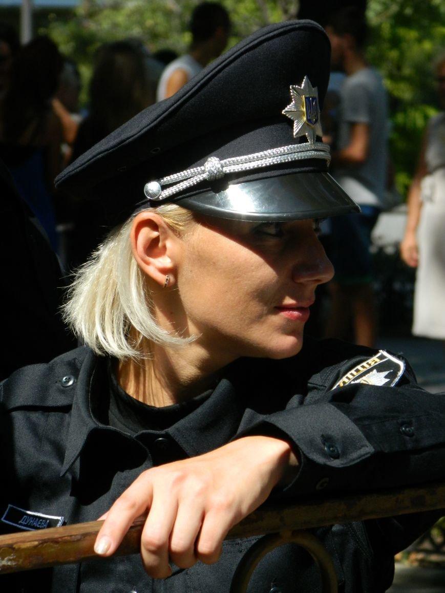 Ильичёвские активисты на принятии присяги новой одесской полиции (+фотоотчёт) (фото) - фото 2