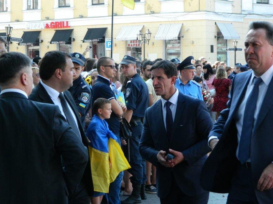 Ильичёвские активисты на принятии присяги новой одесской полиции (+фотоотчёт) (фото) - фото 11
