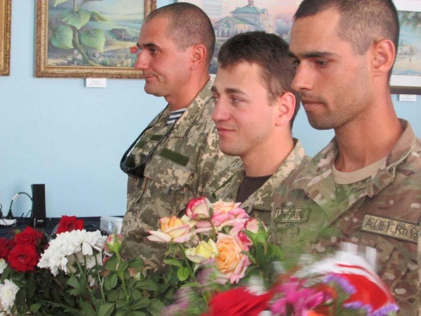 Бойцы 79-ой бригады привезли «Адский аэропорт» в музей Очакова (ФОТО) (фото) - фото 1