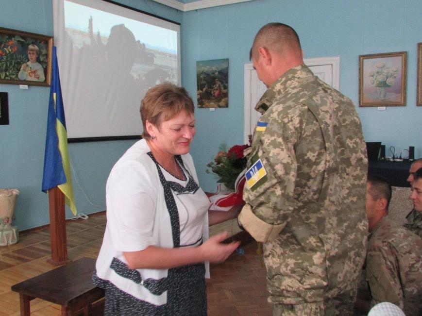 Бойцы 79-ой бригады привезли «Адский аэропорт» в музей Очакова (ФОТО) (фото) - фото 2