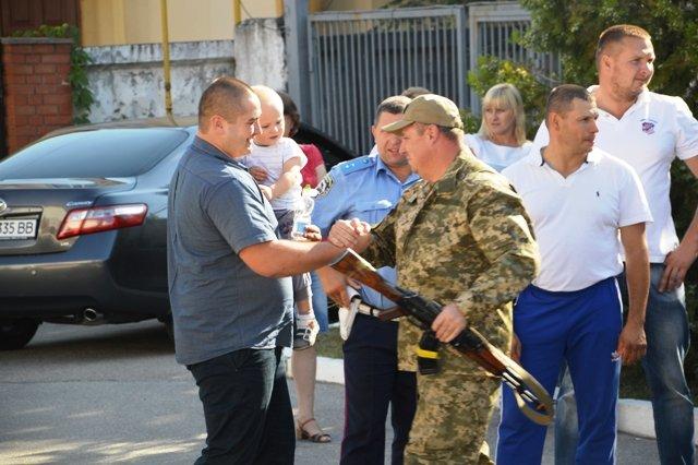 На Кіровоградщину із зони проведення АТО повернувся зведений загін працівників ДАІ., фото-2