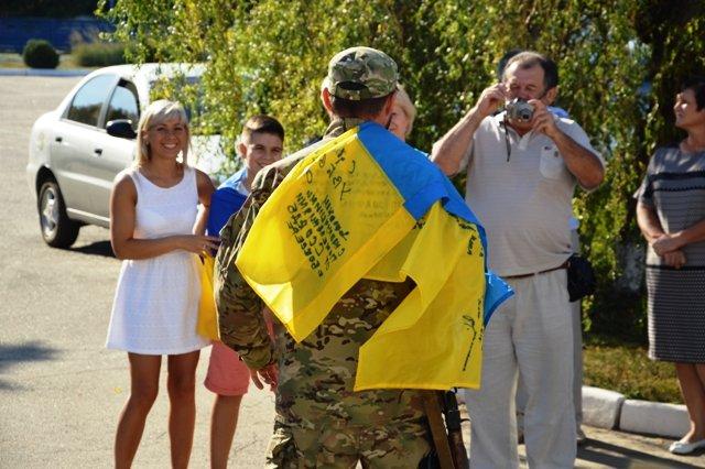 На Кіровоградщину із зони проведення АТО повернувся зведений загін працівників ДАІ., фото-6