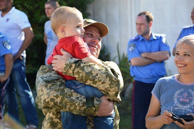 На Кіровоградщину із зони проведення АТО повернувся зведений загін працівників ДАІ., фото-7