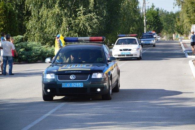 На Кіровоградщину із зони проведення АТО повернувся зведений загін працівників ДАІ., фото-5