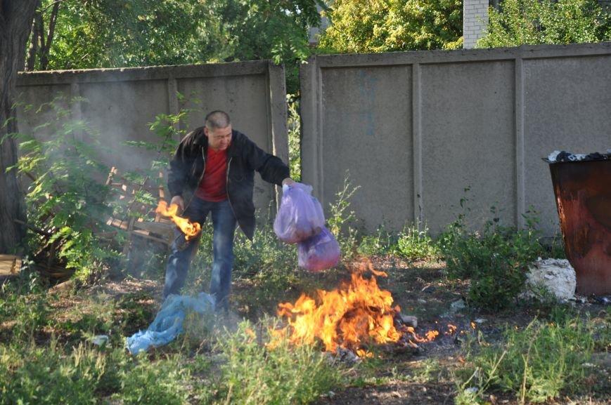 Краматорские правоохранители уничтожили наркотические вещества (ФОТО, ВИДЕО), фото-4