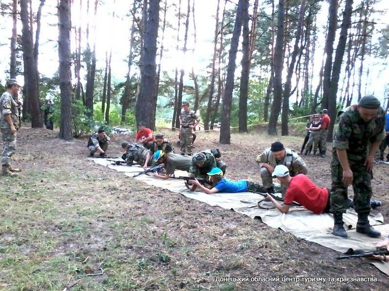 Краматорские школьники приняли участие в финальной части игры «Джура», фото-4