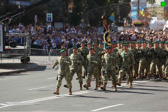 Хмельницькі прикордонники на Марші Незалежності (Фото) (фото) - фото 1
