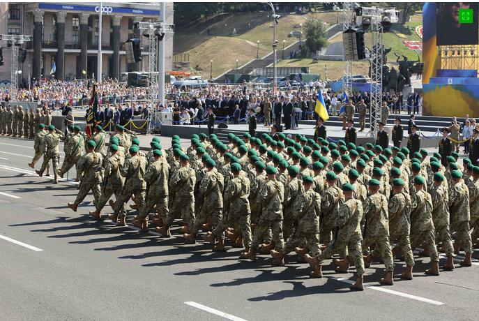 Хмельницькі прикордонники на Марші Незалежності (Фото) (фото) - фото 2