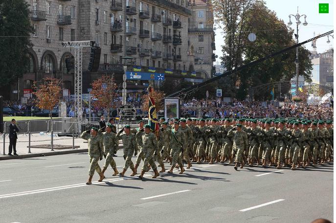 Хмельницькі прикордонники на Марші Незалежності (Фото) (фото) - фото 3