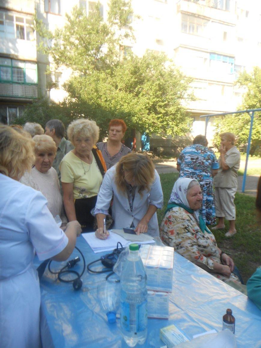 Мобильная амбулатория продолжает свою работу в Артемовске (фото) - фото 2