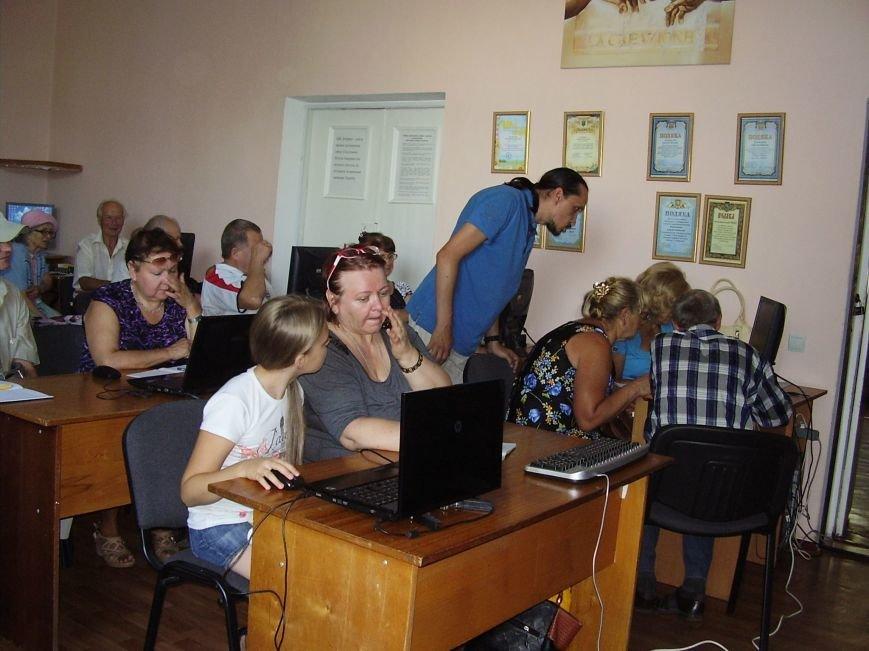 Курси комп'ютерної грамотності для пенсіонерів в Конотопі (Фото), фото-4