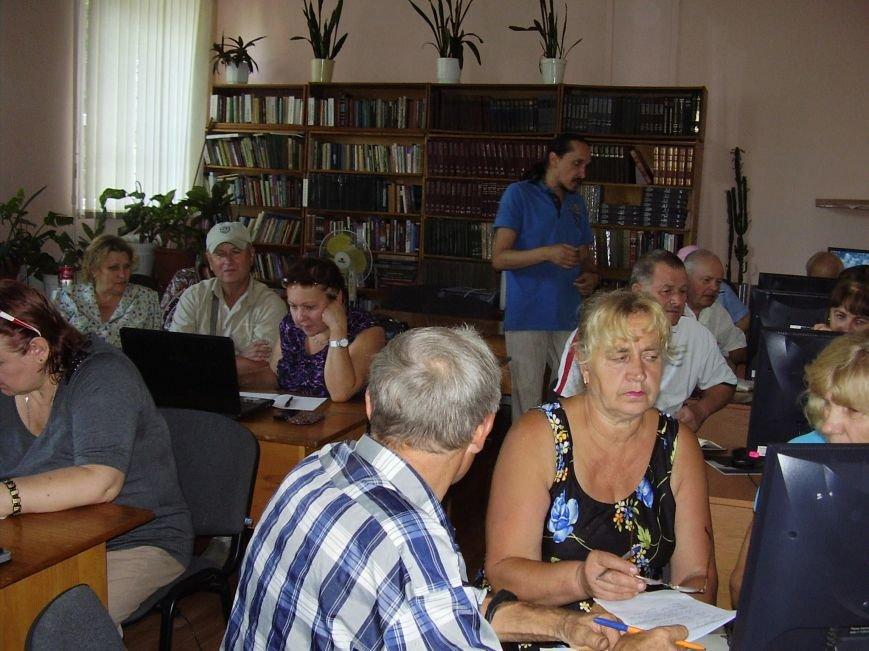Курси комп'ютерної грамотності для пенсіонерів в Конотопі (Фото), фото-6