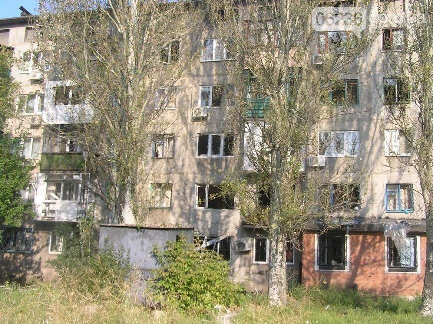 В Авдеевке снаряд попал в многоэтажный дом (ФОТО) (фото) - фото 1