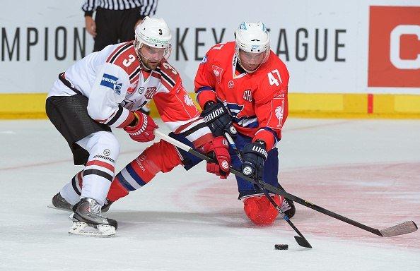 Хоккейный клуб «Неман» на выезде с разницей в одну шайбу уступил немецкому «Адлеру» в Лиге Чемпионов (фото) - фото 4
