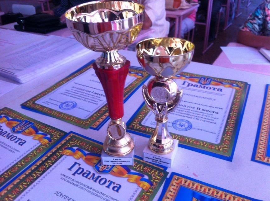 В Красноармейске завершилась школьная спартакиада «Юность» (фото) - фото 1