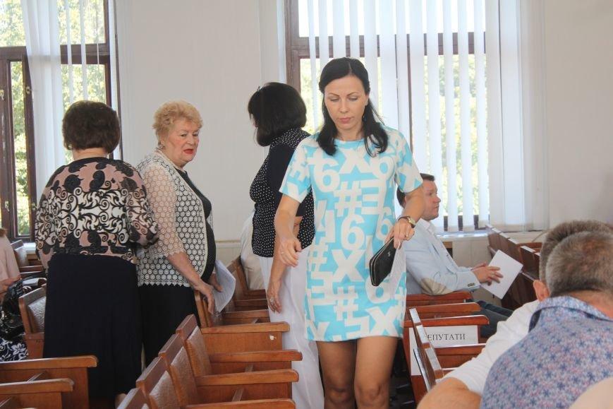 В Днепродзержинске стартовала очередная сессия горсовета (фото) - фото 8