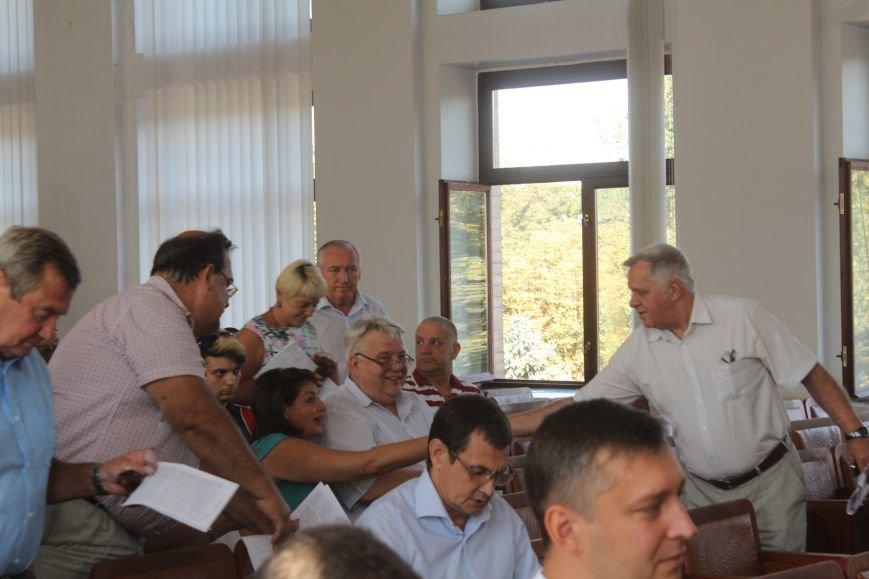 В Днепродзержинске стартовала очередная сессия горсовета, фото-4
