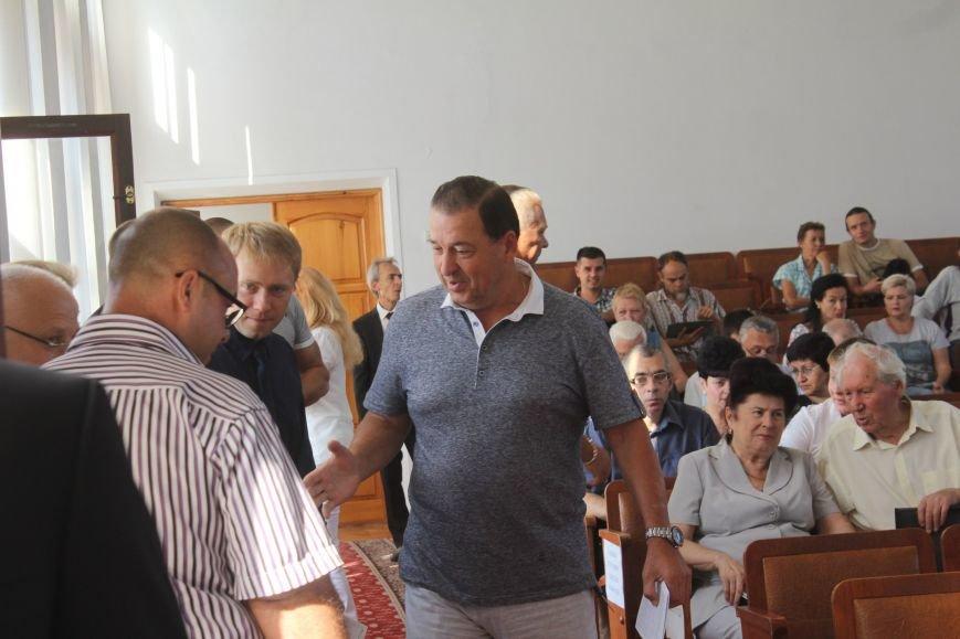В Днепродзержинске стартовала очередная сессия горсовета, фото-3