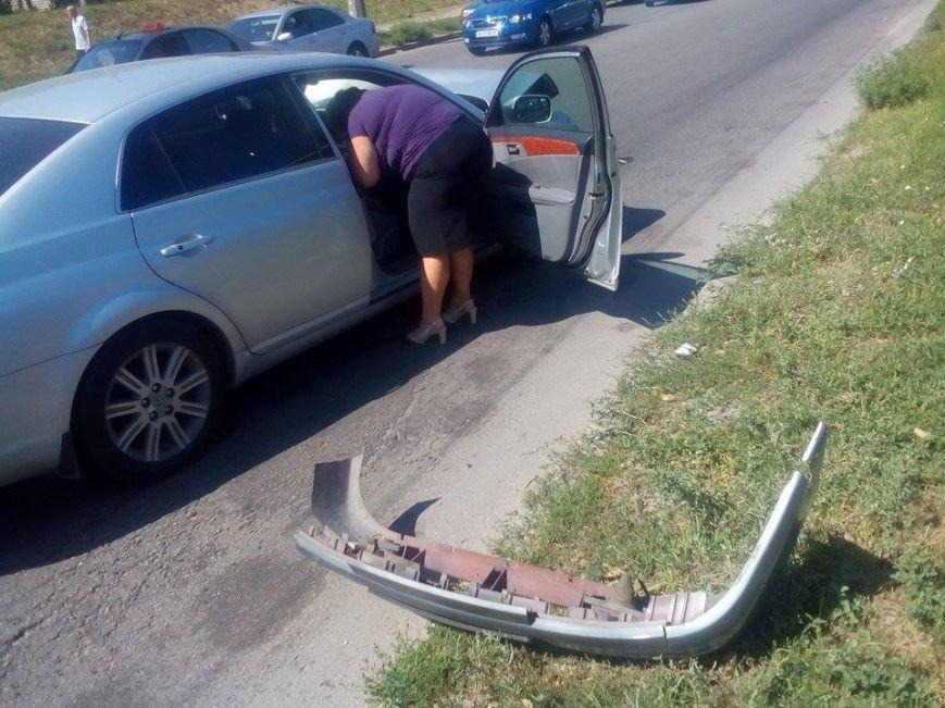 В Запорожье на «Космосе» маршрутка врезалась в автомобиль (ФОТО), фото-2