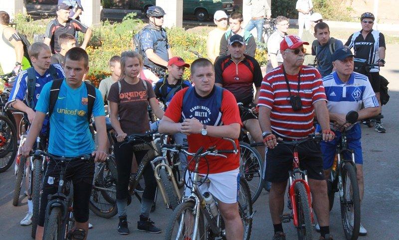 К Дню шахтера сотрудники «Краснодонугля» устроили велопробег (ФОТО), фото-1