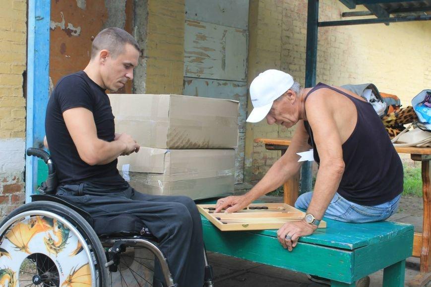 Инвалиды Краматорска и Славянска играли в дартс, нарды и бочче, фото-2