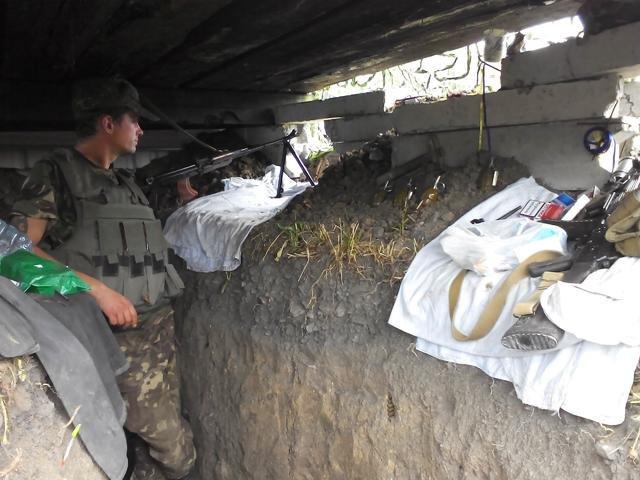 Старший лейтенант 40-го батальона Юрия Брехаря рассказал об Иловайске (фото) - фото 16