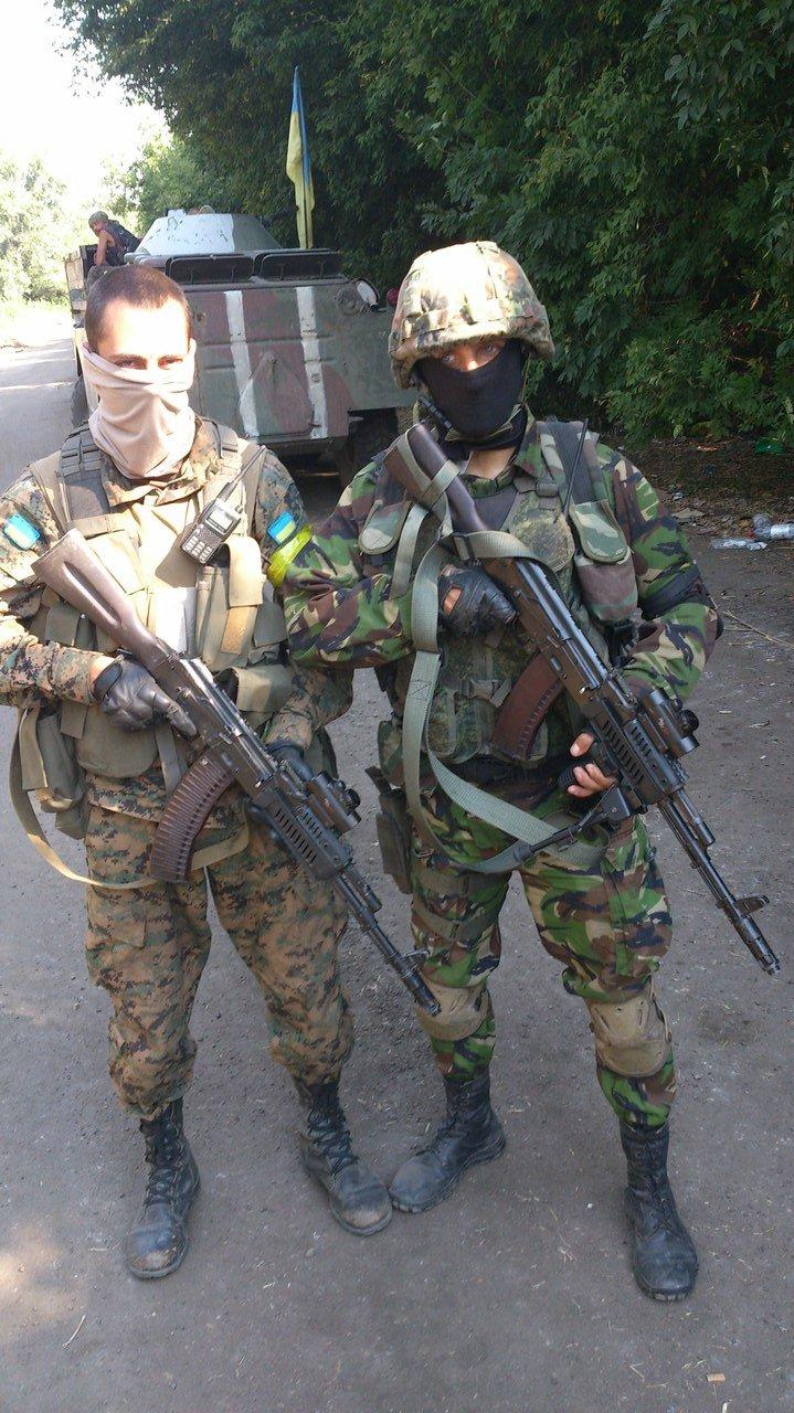 Боец БТО «Кривбасс»: Для того, чтобы «продавить» Иловайск нужна была просто техника, которая была вся на параде (фото) - фото 1