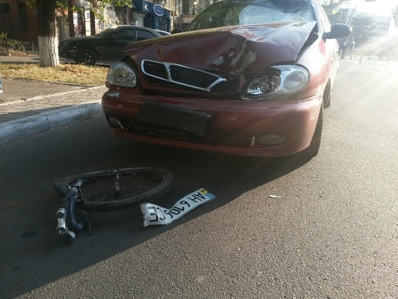 В Мариуполе водитель «Дэу» насмерть сбил велосипедиста (ФОТО) (фото) - фото 1
