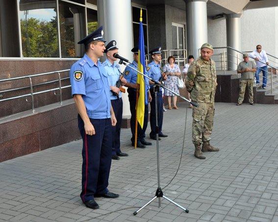 Полтавські правоохоронці повернулися з зони АТО. Фото (фото) - фото 2